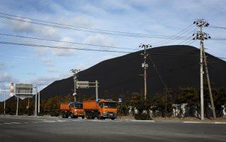 משאיות פחם ביפן