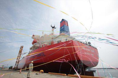 הספינה ששטה כבר שנה על דלק מתנול