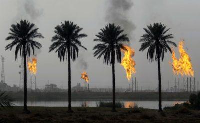 שדה גז בעיראק. מקור: גטי אימג'ז