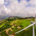 חוות טורבינות רוח בשאנצי, סין