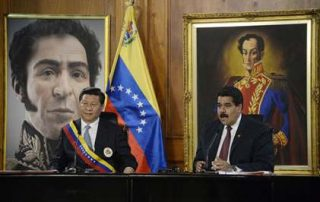 ניקולאס מדורו ושי ג'ינפינג בוונצואלה