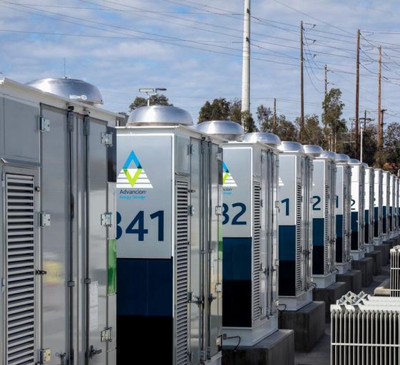 אחסון אנרגיה בסוללה אסקונדידו