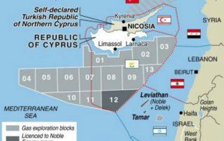 תגליות הגז בסביבות קפריסין