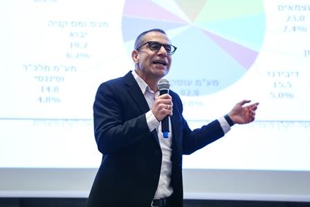 ערן יעקב, מנהל רשות המסים בכנס התחזיות