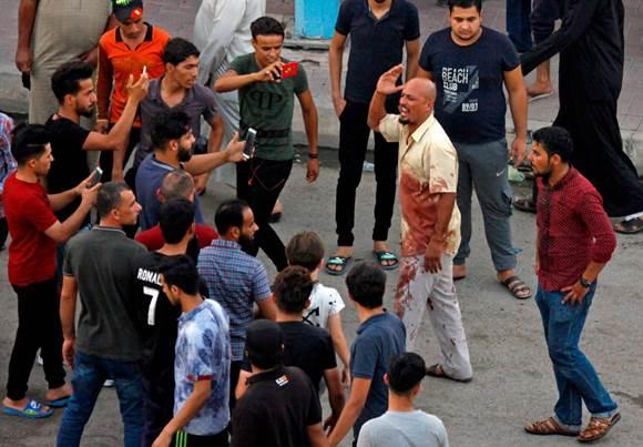 הפגנות בעיראק יולי 2018