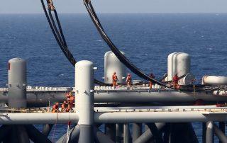 אסדת הקידוח לוויתן גז טבעי ירדן