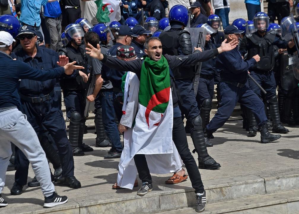 הפגנה באלג'יריה