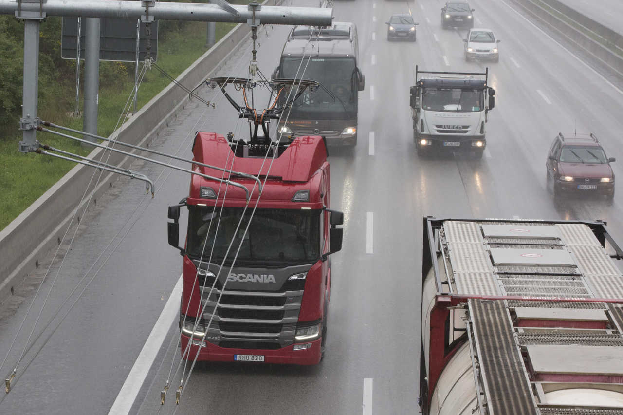 משאית ניסוי על חשמל בפיילוט ELISA